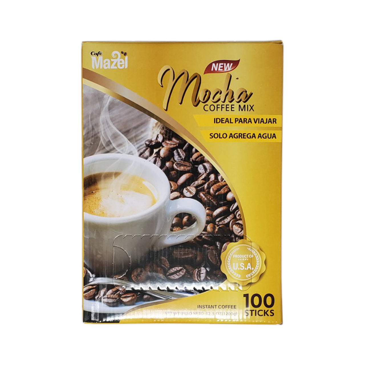 마젤 커피믹스 모카 (Mazel Coffee Mix Mocha) 100 Sticks