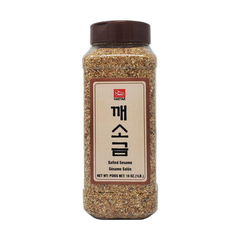 해태 깨소금 (Salted Sesame Seeds) - 16oz