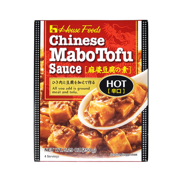 HouseFoods Chinese Mabo Tofu Sauce Hot - 150g