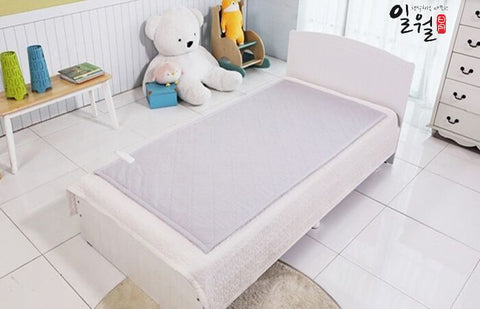 일월 절전형 순면 워셔블 전기 매트 (Ilwoul Premium Cotton Washable Electric Heating Mat) - Single