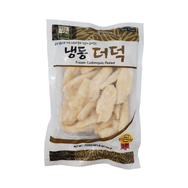 [Weekly Sale] 냉동 더덕 (Jayone Frozen Codonopsis) 8oz