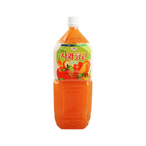 Jayone 사과당근 쥬스 (NH-BukAnDong Apple & Carrot Drink) 2.0 L