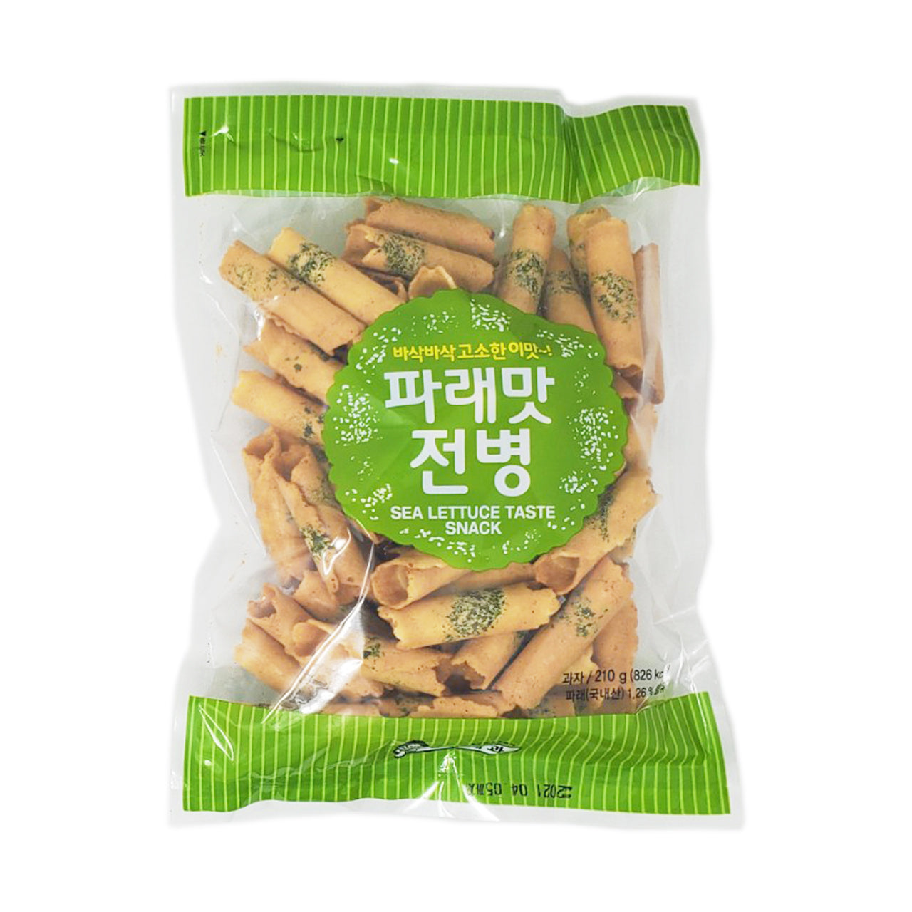 파래맛 전병 (Sea Lettuce Flavor Cracker) 210g