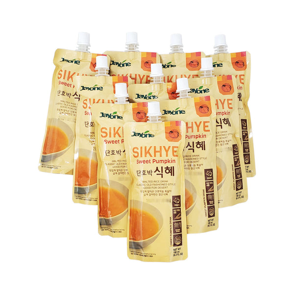 자연나라 단호박 식혜 (Jayone Sweet Pumpkin Sikhye) - 180ml x 10pk