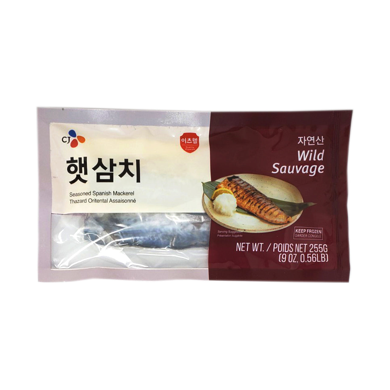 CJ 자반 삼치 (Seasoned Spanish Makerel) 255g