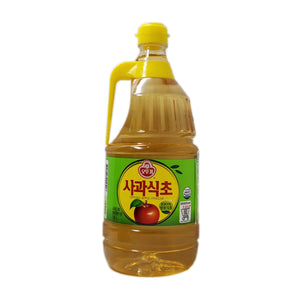 오뚜기 사과 식초 (Ottogi Apple Vinegar) 1.8liter