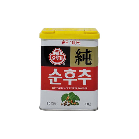 오뚜기 순후추 (Ottogi Black Pepper Powder Can) - 100g