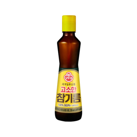[Weekly Sale] 오뚜기 고소한 참기름 (Ottogi Sesame Oil) - 320ml