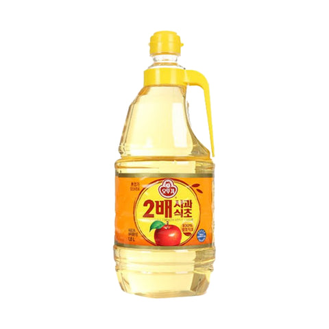 오뚜기 2배 사과 식초 (Ottogi X2 Strength Apple Cider Vinegar) - 1.8L
