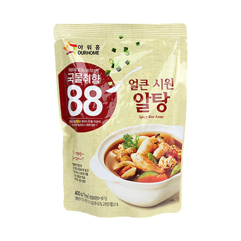 아워홈 알탕 (Spicy Pollack Roe Soup) - 400 G
