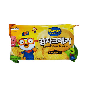 팔도 뽀로로 감자 크래커 (Paldo Pororo Potato Cracker) - 20g x 8pkts /bag