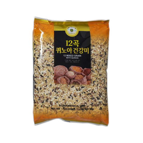 롬 12곡 퀴노아 건강미 (Rom 12 Mixed Grain w Quinoa) 4lbs