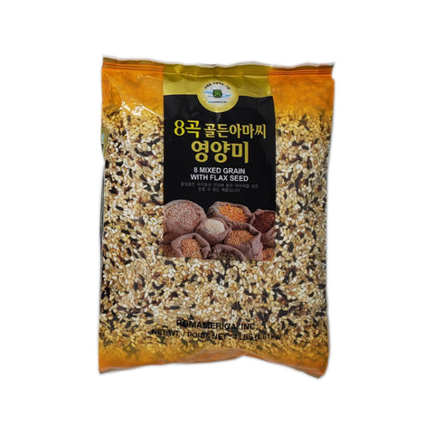 롬 8곡 아마씨 영양미 (Rom Mixed Grain w Flax Seed) 4lbs