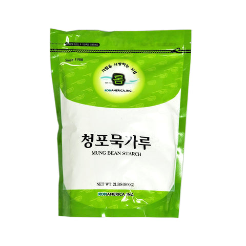 롬 청포묵 가루 (Rom Mung Bean Starch) 2lbs