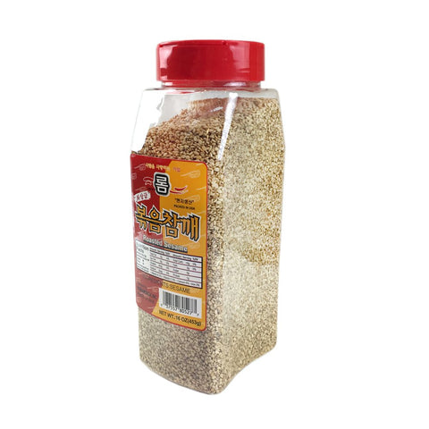 롬 볶음참깨  (Rom Roasted Sesame Seeds) - 16 oz