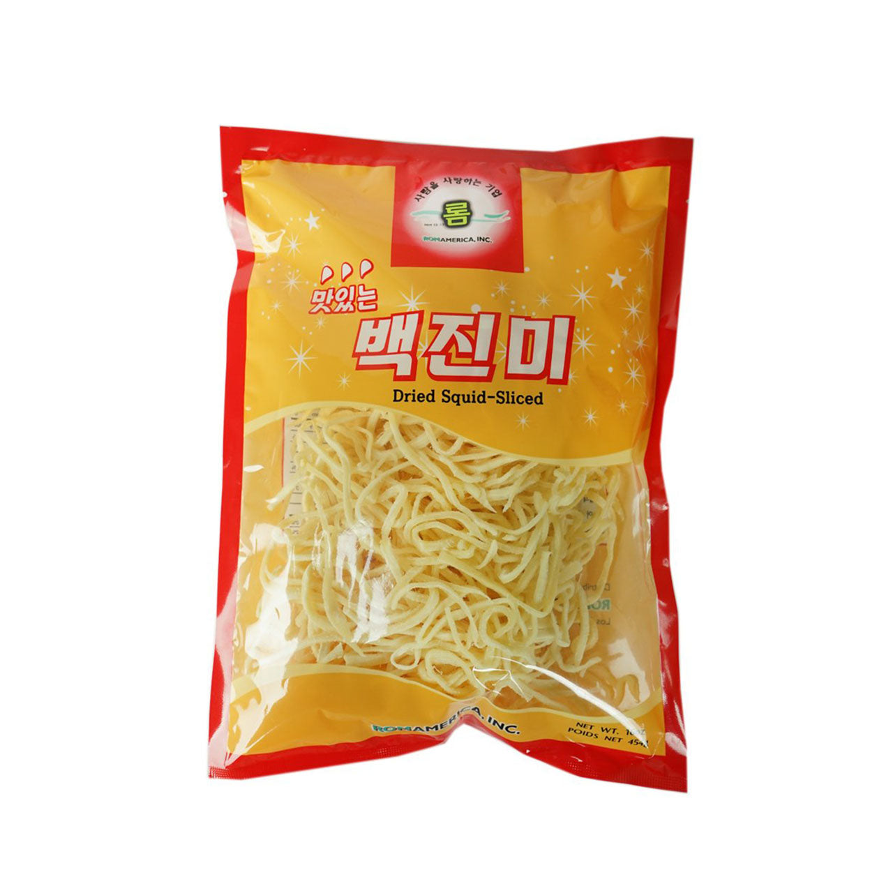 롬 백진미 (Rom Squid Dried Squid slice) - 16oz