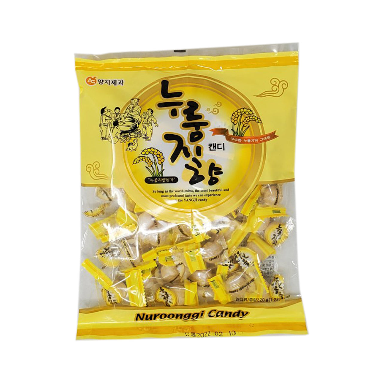 누룽지 사탕 (Scorched Rice Flavored Candy) - 330g