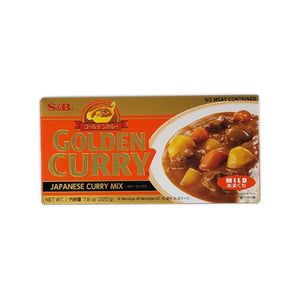 S&B Golden Curry Mix Mild 220g