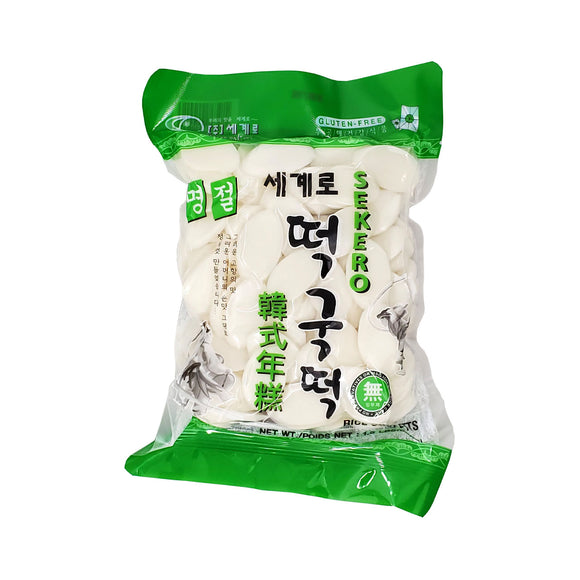 세계로 떡국떡 (Sekero Rice Ovaletts) - 1.5lbs