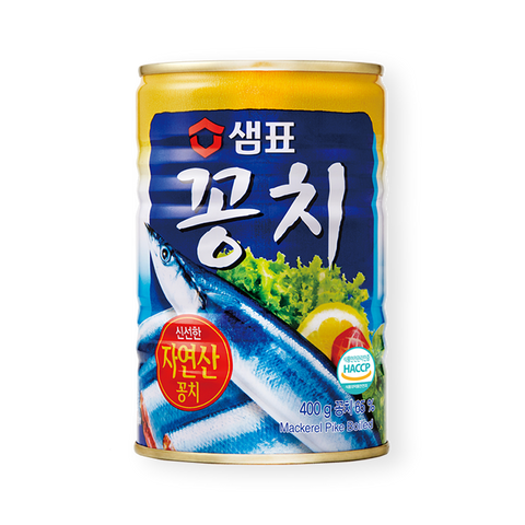 샘표 꽁치 통조림 (Sempio Canned Mackerel Pike) - 400g