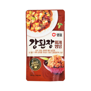 샘표 강된장찌개 양념 (Sempio Soybean Paste Stew Sauce) - 130g