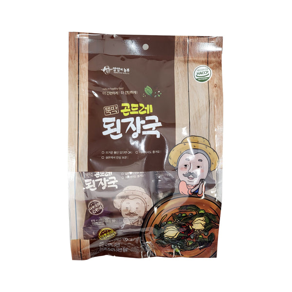 뚝딱 곤드레 된장국 (YangYang Dried Cirsium Setidens Soybean Paste Soup) - 10g X 5ea
