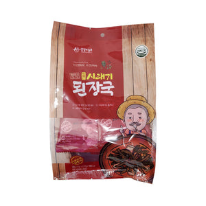 뚝딱 얼큰 시래기 된장국 (YangYang Dried Radish Leaves Soybean Paste Soup) - 10g X 5ea