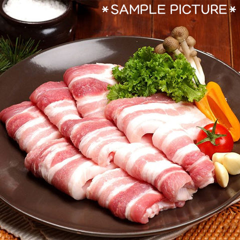 돼지 삼겹살 (Pork Belly) - 2 lbs ($5.99/LBS)