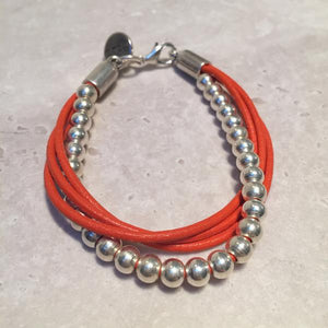 Ssolo London Silver Twist Bracelet