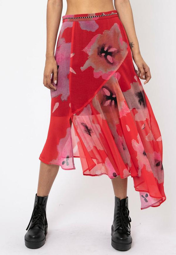 Religion Luscious Print Skirt