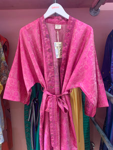 Hoda Silk Kimonos - Assorted Unique Patterns