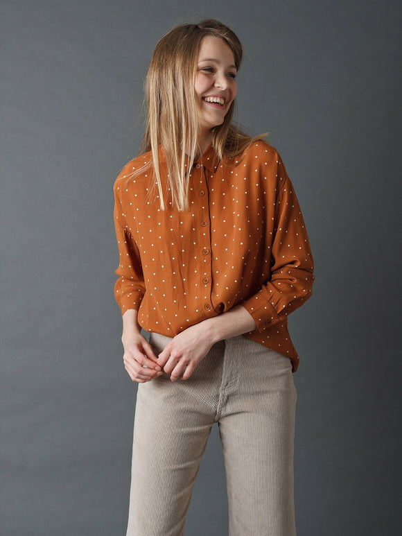 Indi & Cold Cinnamon Spotted Shirt