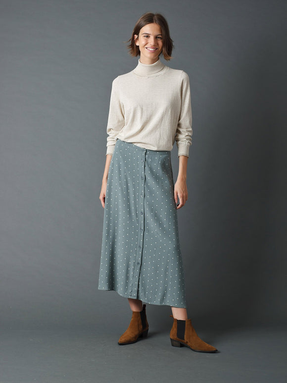 Indi & Cold Vintage Spotted Skirt