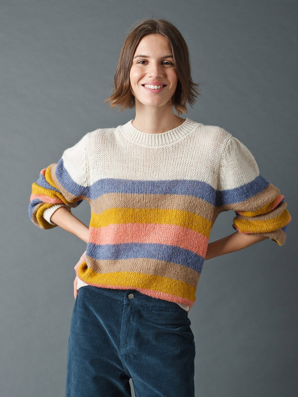 Indi & Cold Striped Sweater