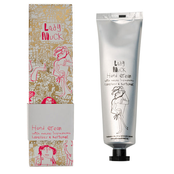 Lady Muck Hand Cream with Lavender & Bergamot