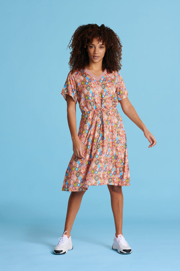 POM Nature's Mosaic Dress