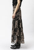 Religion Hide Print Aspect Skirt