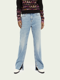 Scotch & Soda High Rise Straight Leg Jeans