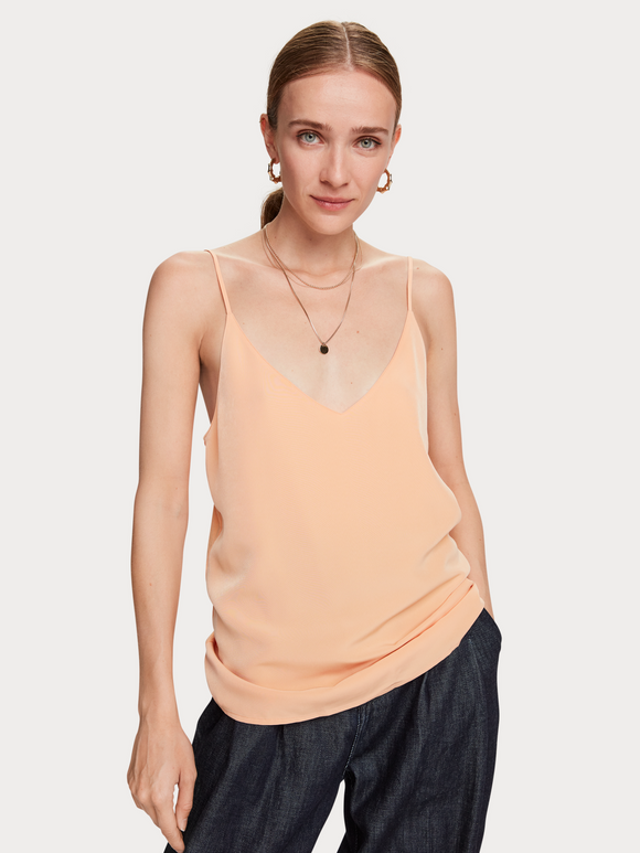 Scotch & Soda Cami - Soft Apricot