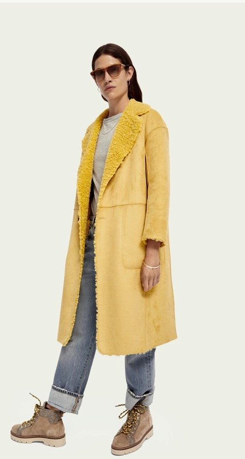 Scotch & Soda Reversible Teddy Coat