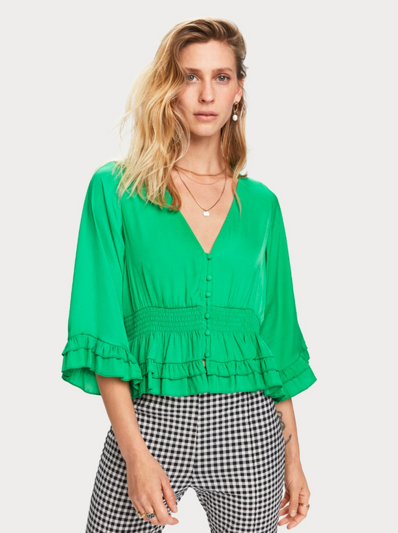 Scotch & Soda Ruffles Top