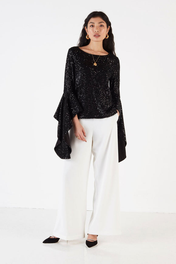Un-Nye Dolly Sequin Blouse