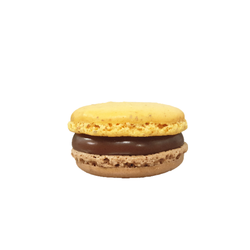 Load image into Gallery viewer, Hazelnut brittle macaron