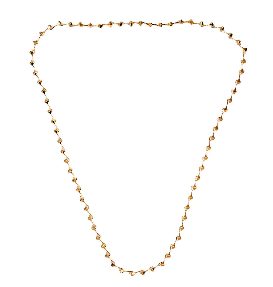 AMAZON LONG NECKLACE GOLD