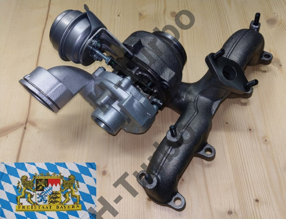 VW T5 1,9 TDI AXC, AXB, BRS, BRR Upgrade Turbolader - Stufe