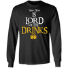 Lord Of The Drinks Long Sleeve
