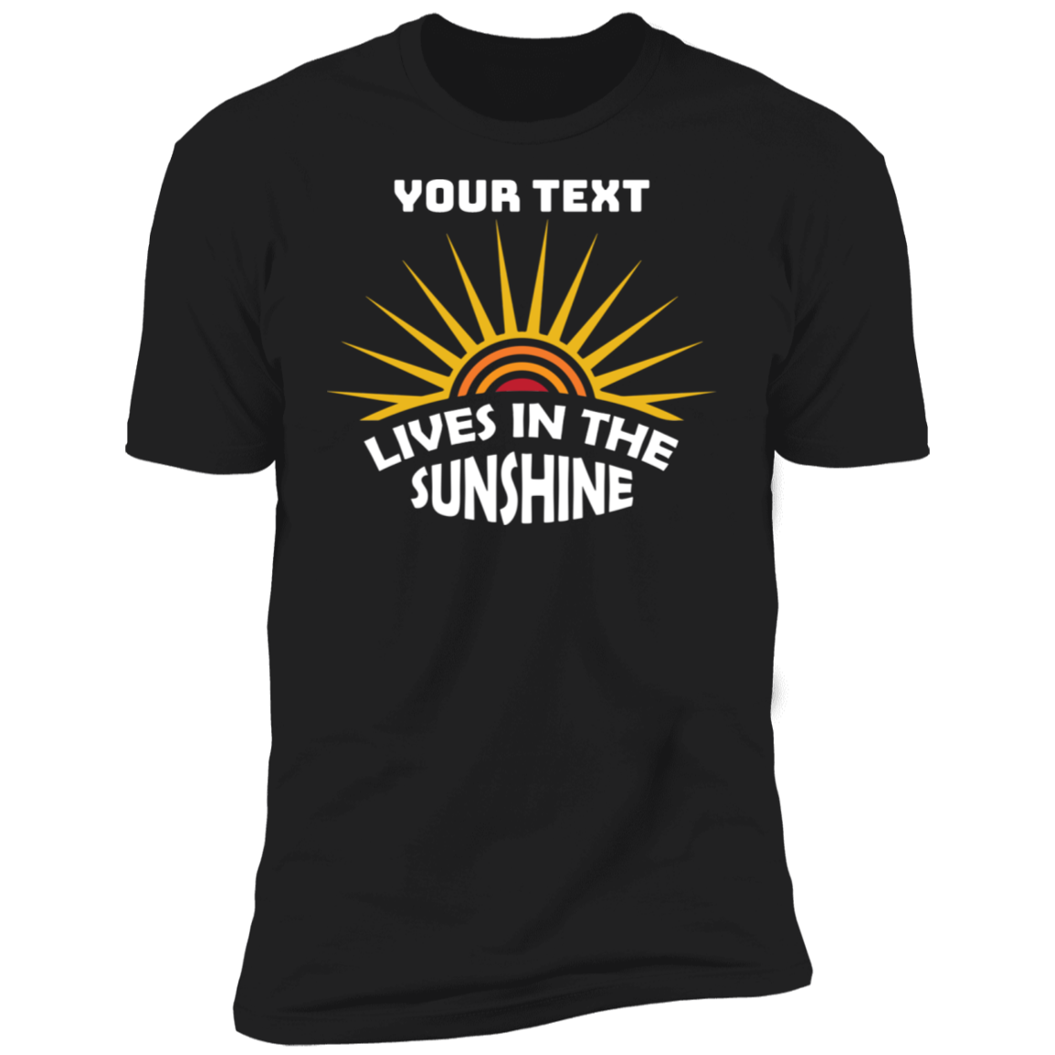 Lives In The SunshineT-Shirt