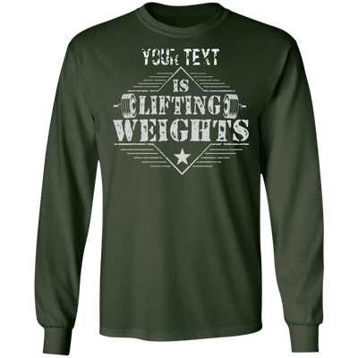 Lifting Weights Long Sleeve