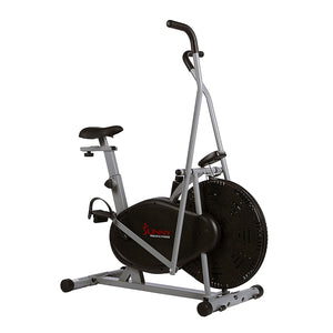 Air Resistance Hybrid Upright Exercise Bike W/ Arm Exercisers