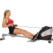 Load image into Gallery viewer, Dual Function Magnetic Rowing Machine Rower W/ LCD Monitor